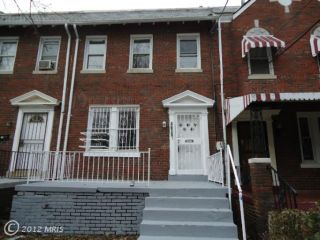 Foreclosed Home - 4620 4TH ST NW, 20011