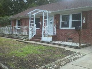 Foreclosed Home - 419 NICEWOOD DR, 23602